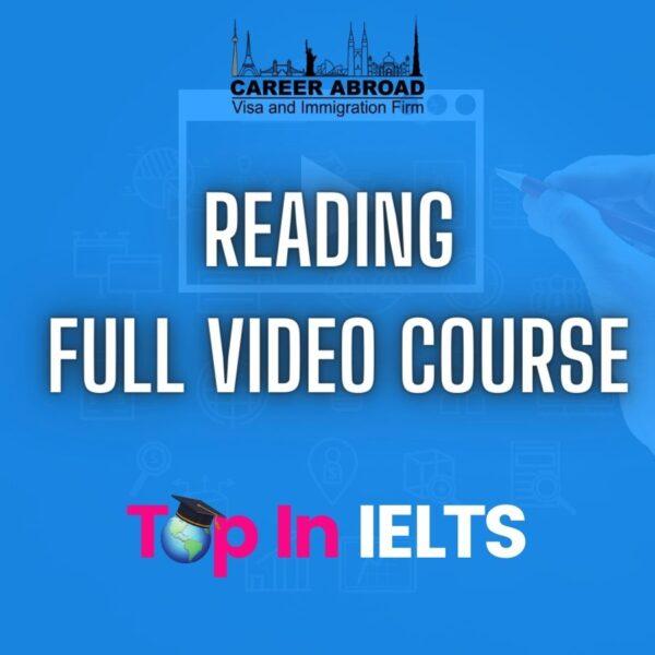 IELTS Reading Video Course