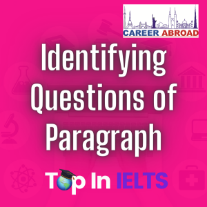 Identifying Questions of Paragraph