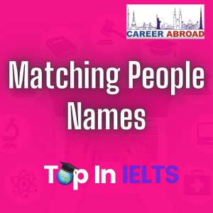 Matching People Names