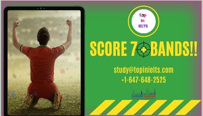 Score Score 7+ in IELTS Test